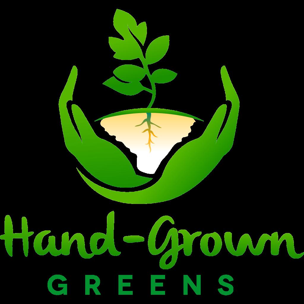 Hand-Grown Greens logo