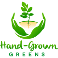 Hand-Grown Greens logo