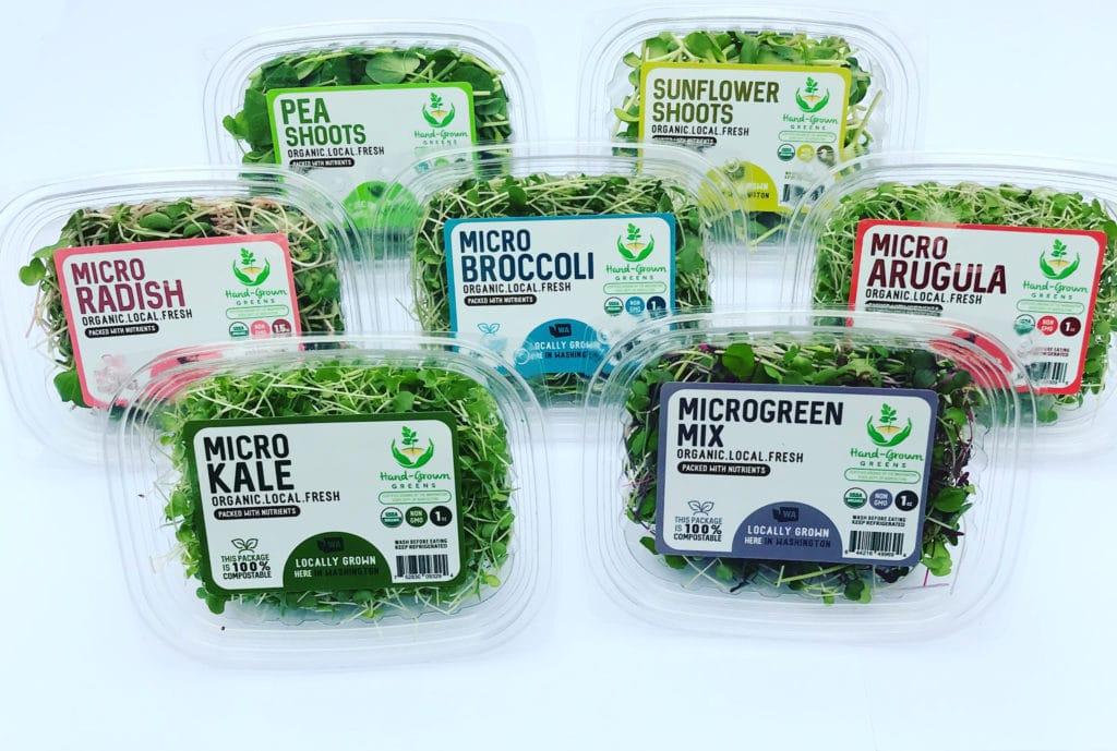 easiest microgreens to grow packaged