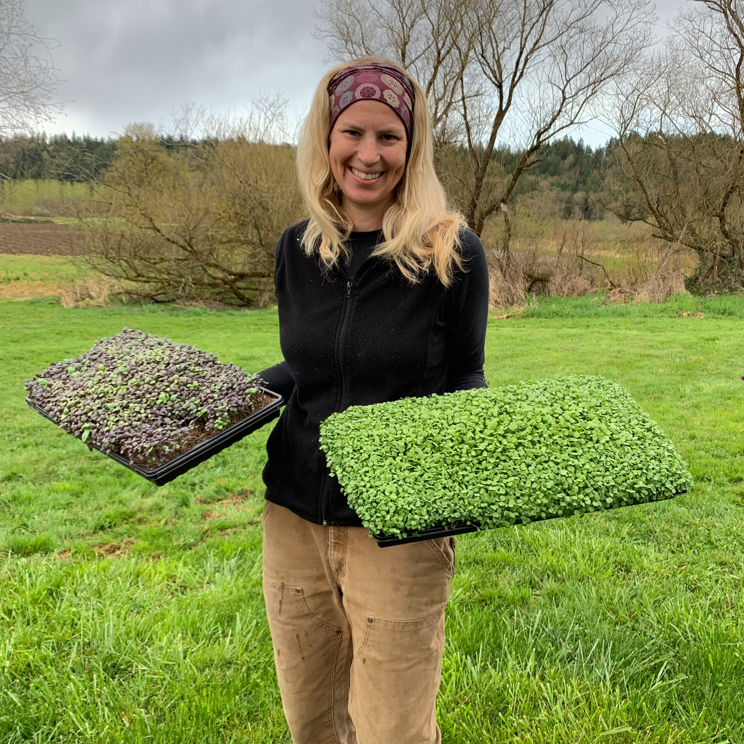Laura from Hand Grown Greens