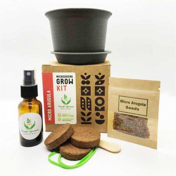 microgreen grow kit arugula