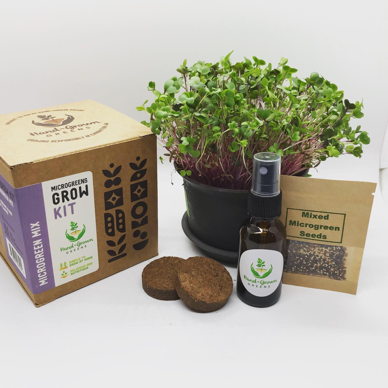 Mixed microgreens growing kit